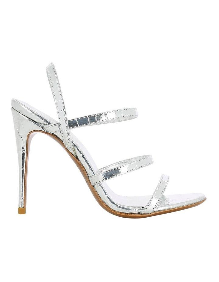 Dot Silver Croc Sandal image 1