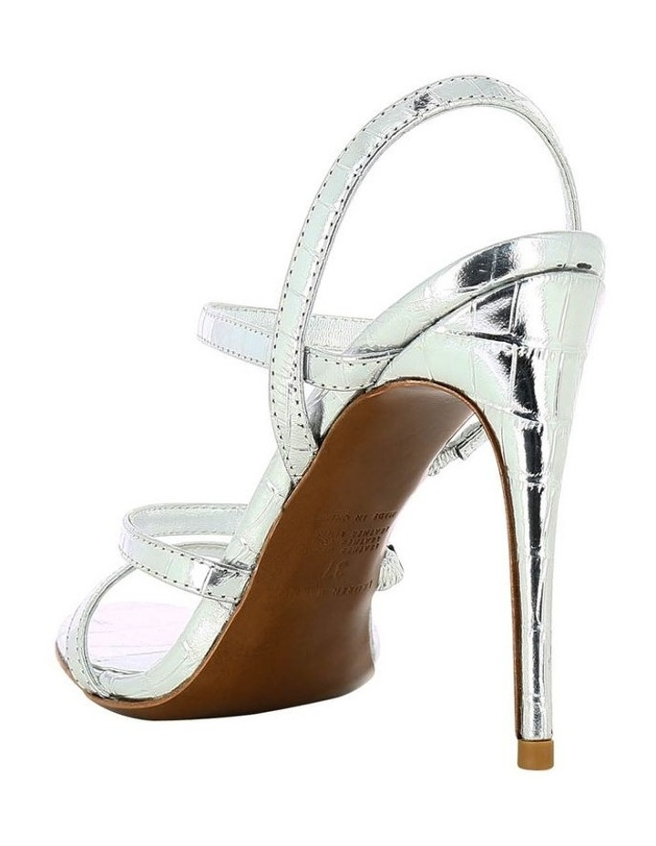 Dot Silver Croc Sandal image 2
