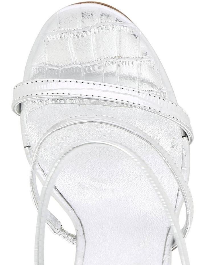 Dot Silver Croc Sandal image 3