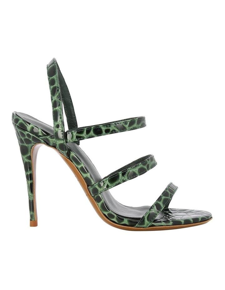 Dot Olive Croc Sandal image 1