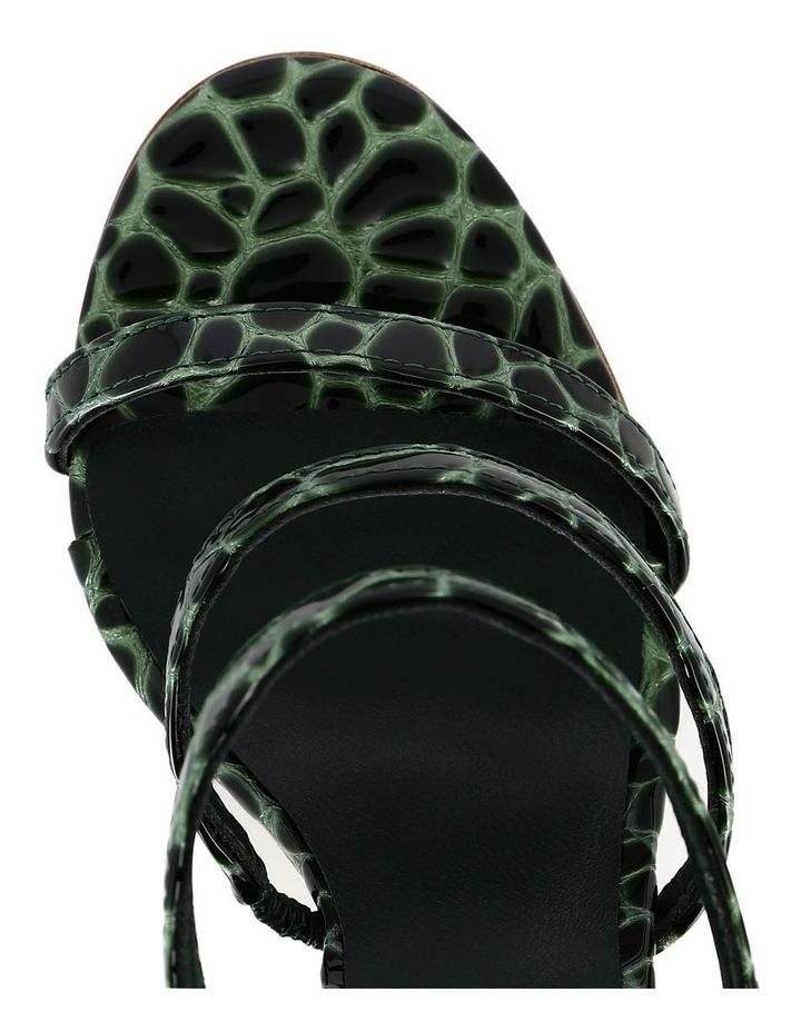 Dot Olive Croc Sandal image 3