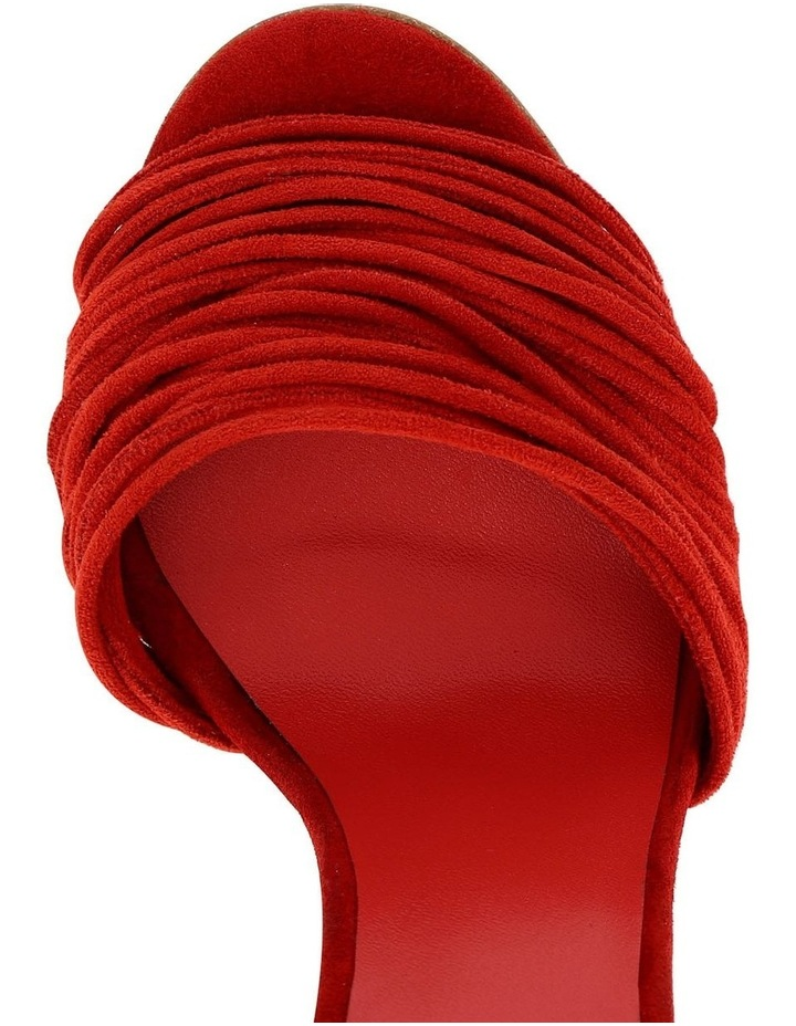 Mia Red Suede Sandal image 3
