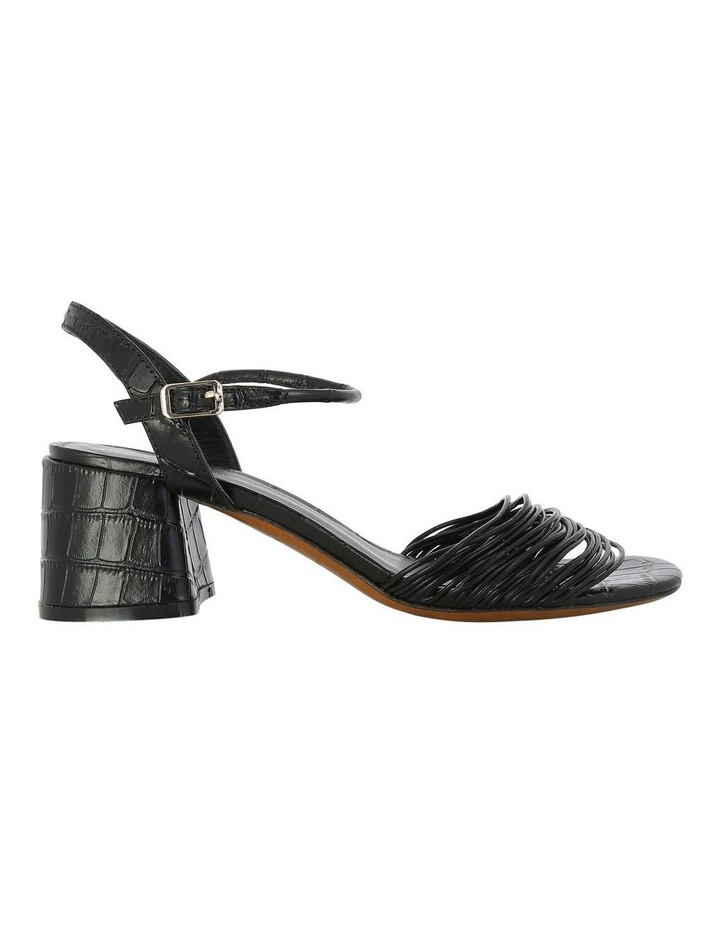 Grey Black Croc Sandal image 1