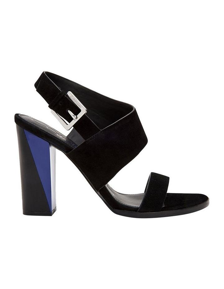 Carina Black Suede Sandal image 1