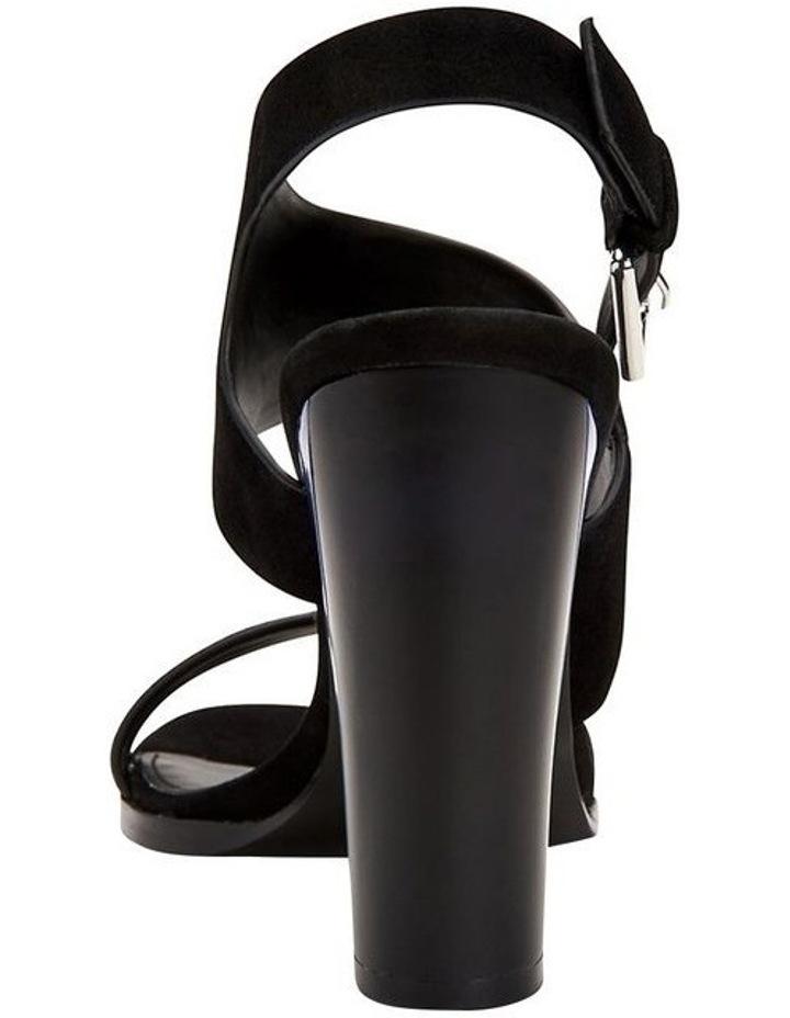 Carina Black Suede Sandal image 2
