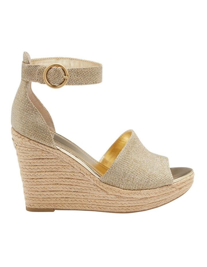 Haleey Gold Sandal image 1
