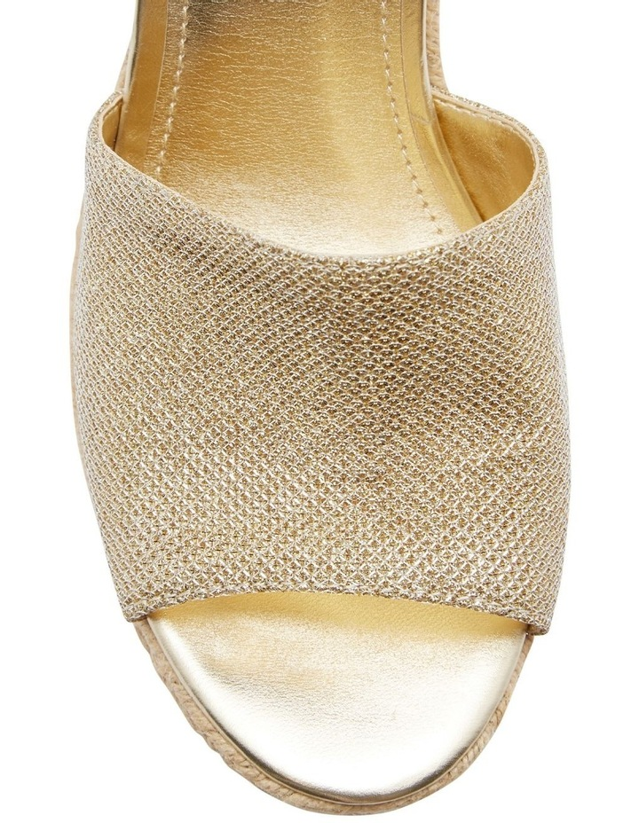 Haleey Gold Sandal image 3