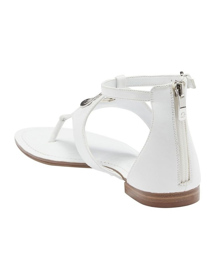 Jeci White Sandal image 2