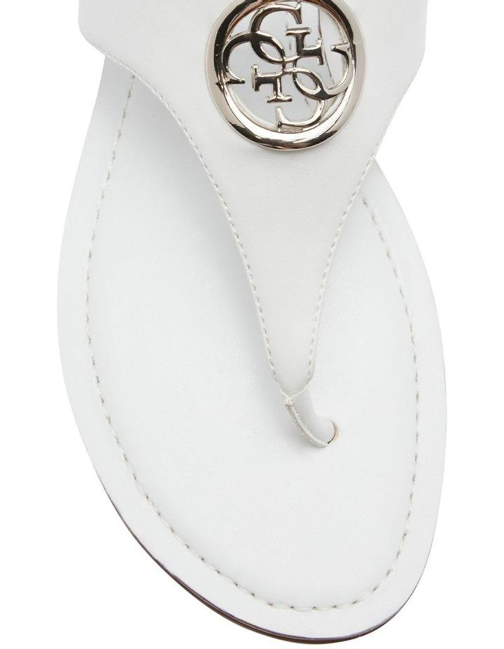 Jeci White Sandal image 3