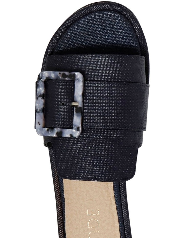 Zurah Navy Weave Slides image 3