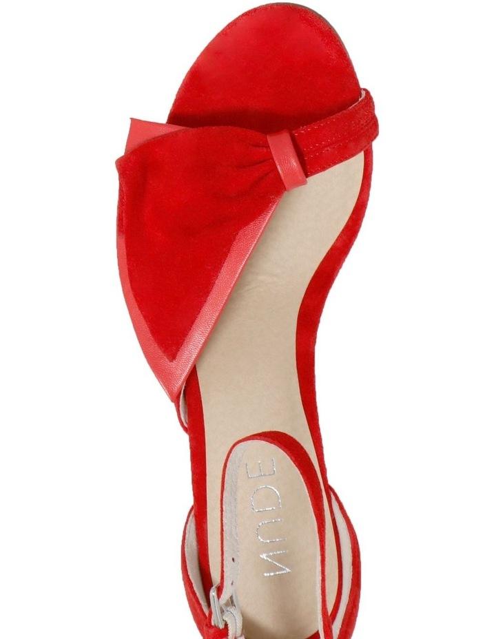 Kiki Red Sandal image 3