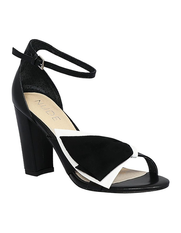 Kiki Black/White Sandal image 2