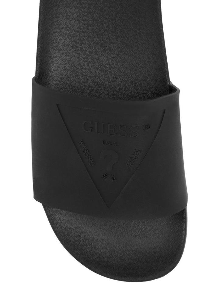 Sachi Black Flat Sandal image 3