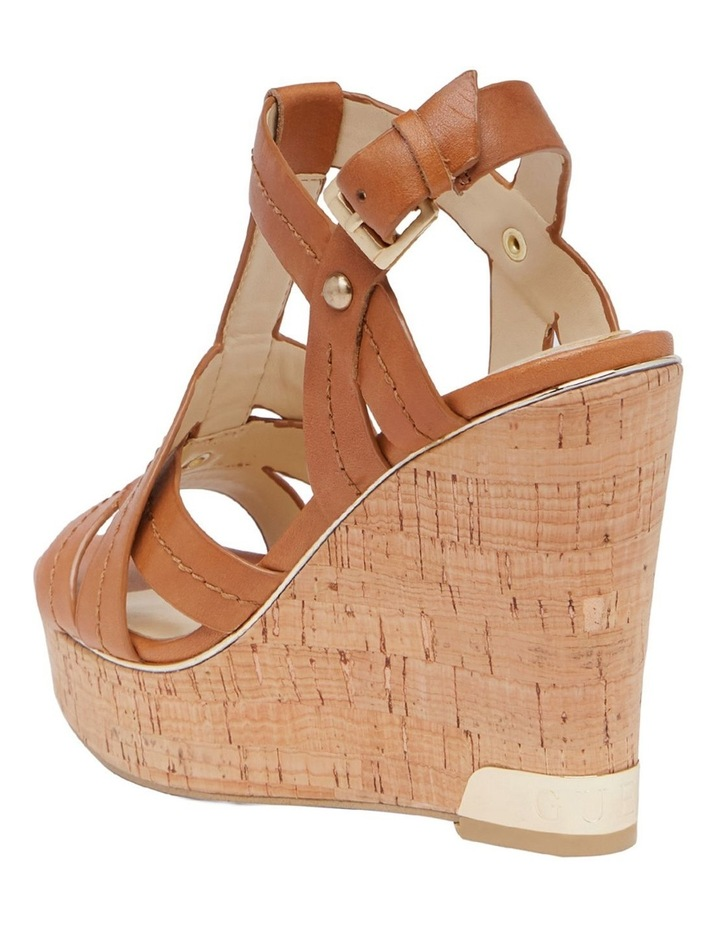 Hyper2 Tan Lt Cuoio Wedge Sandal image 3