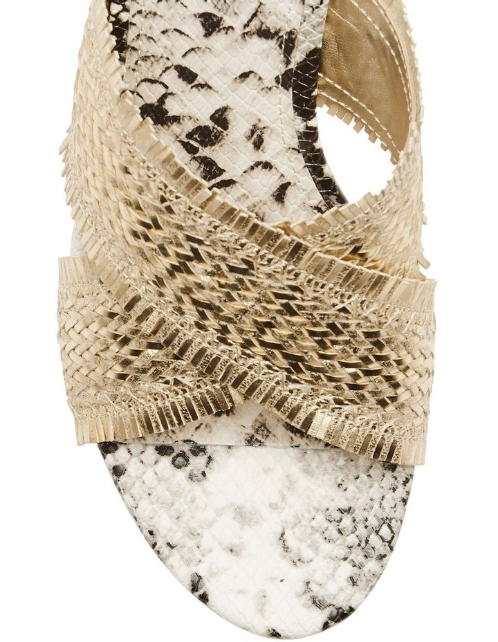 Bridle Gold Wedge Sandal image 2