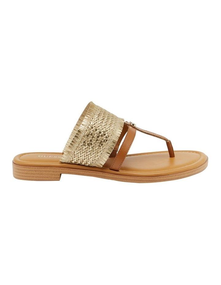 Geann Gold Flat Sandal image 1