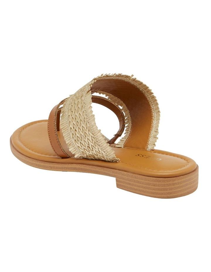 Geann Gold Flat Sandal image 3