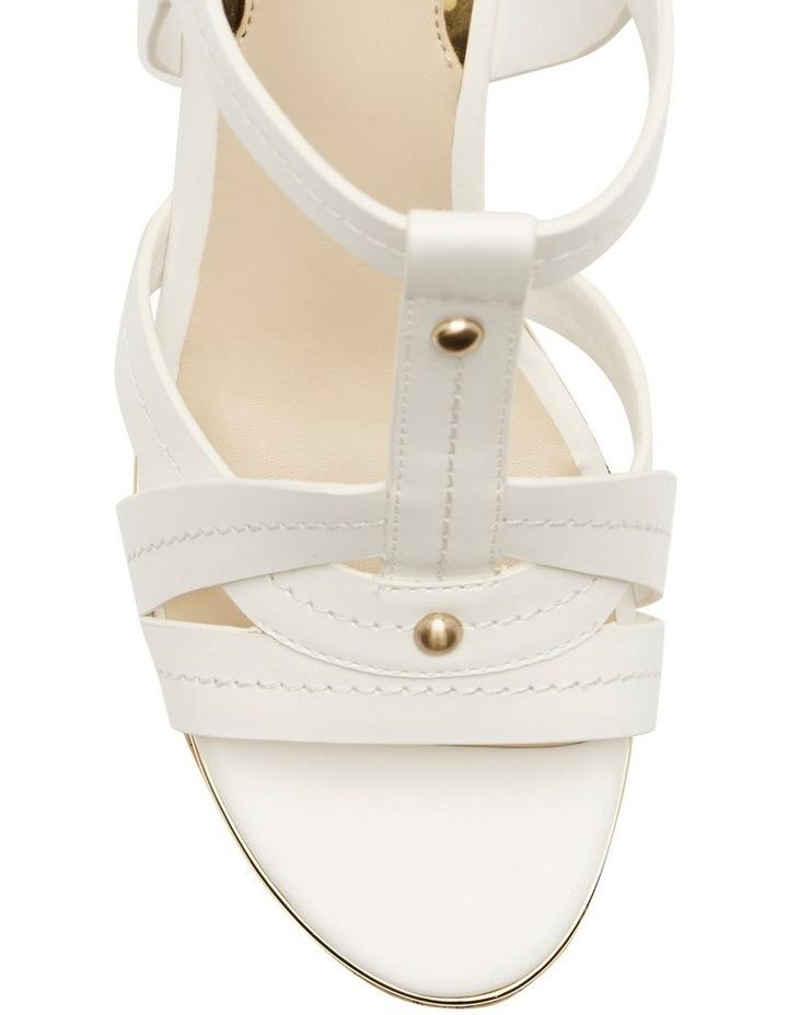 Hyper2 White Wedge Sandal image 2