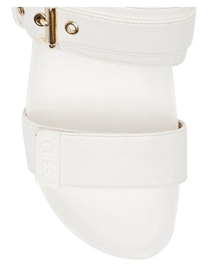 Fadora White Sandal image 3