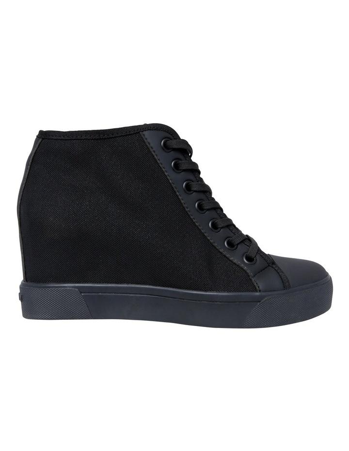 af0e489b1a18 Cindy Black Wedge Sneaker image 1