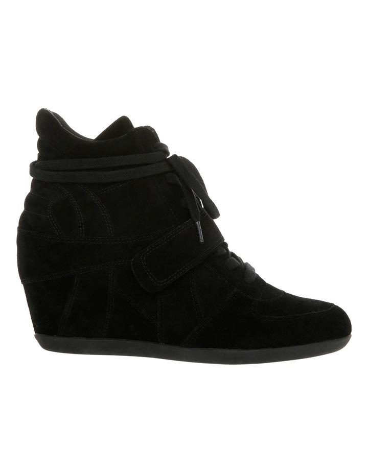 b7e5c9a6fdfb3 Bowie Black Wedge Sneaker image 1