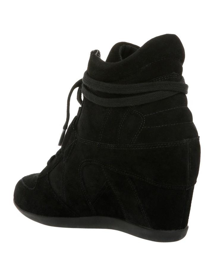 Bowie Black Wedge Sneaker image 2