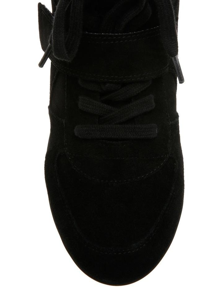 Bowie Black Wedge Sneaker image 3