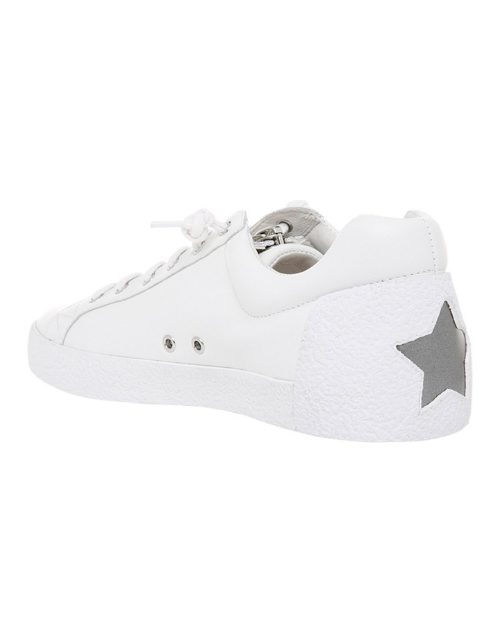 Nirvana Textured Outsole White Sneaker image 2