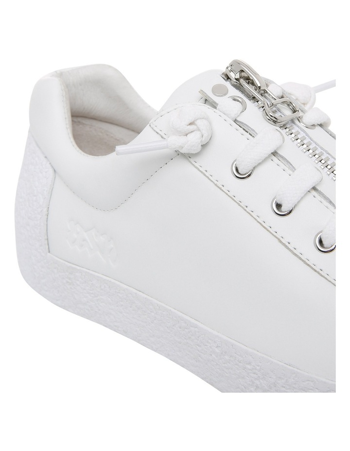 Nirvana Textured Outsole White Sneaker image 3