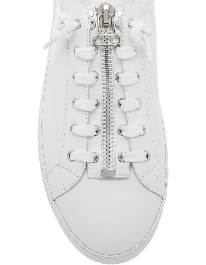 Nirvana Textured Outsole White Sneaker image 4