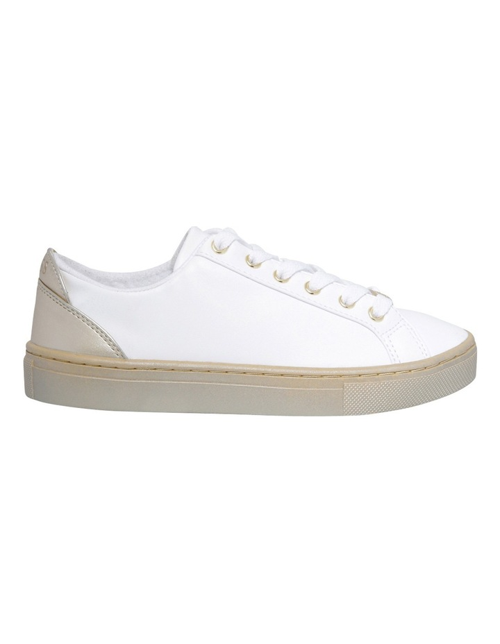 Jacaly White/Gold Sneaker image 1