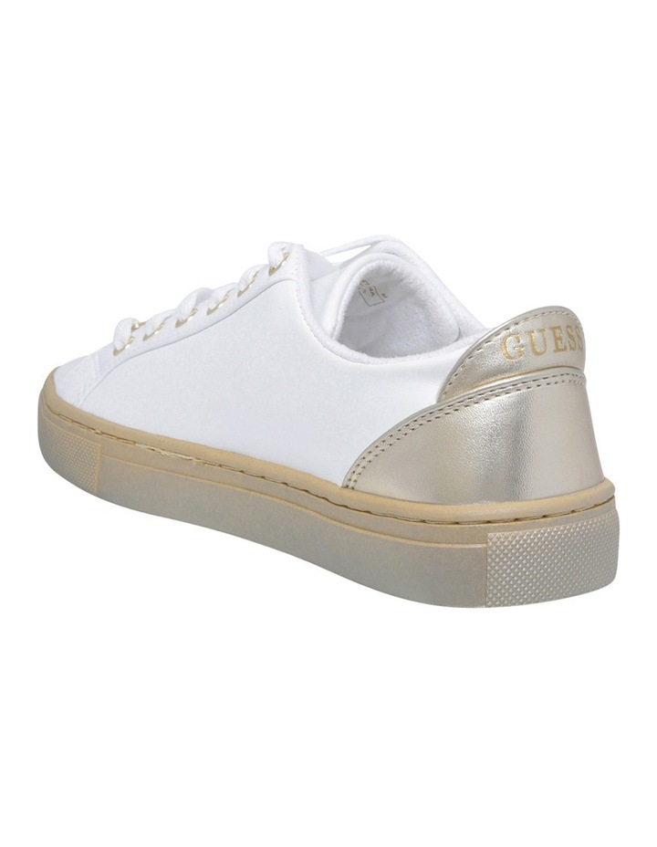 Jacaly White/Gold Sneaker image 2