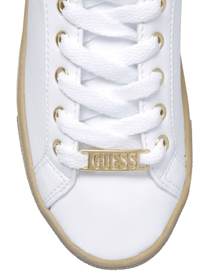 Jacaly White/Gold Sneaker image 3