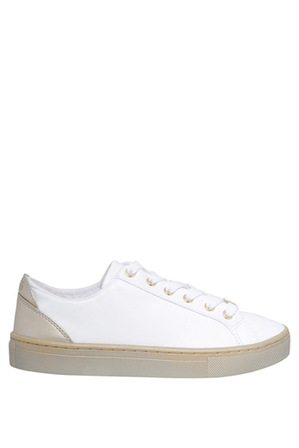 Guess - Jacaly White/Gold Sneaker
