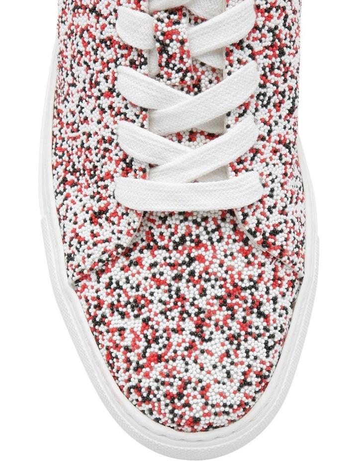 The Sprinkle Red Multi Sneaker image 4