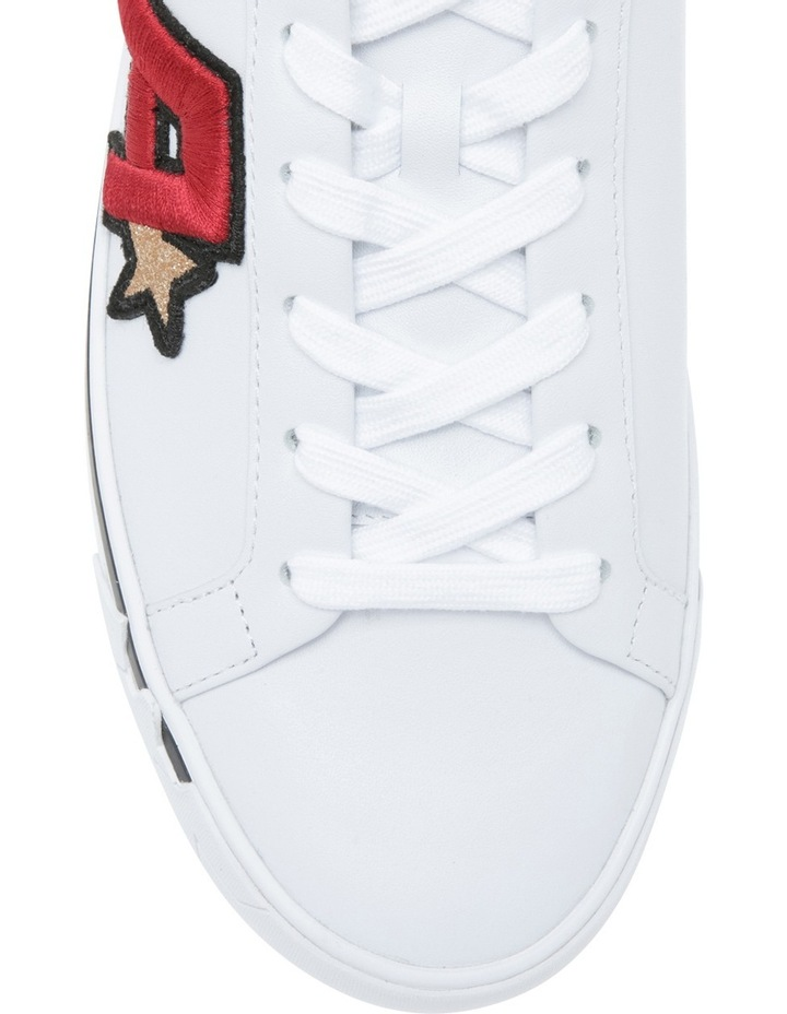 Next White Red Sneaker image 3