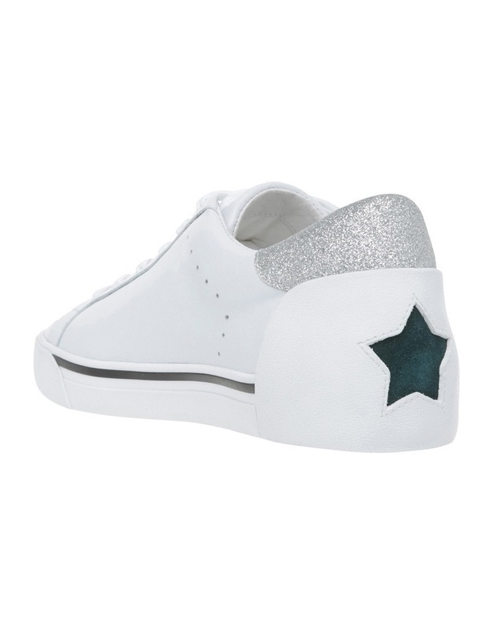 Next White Teal Sneaker image 2
