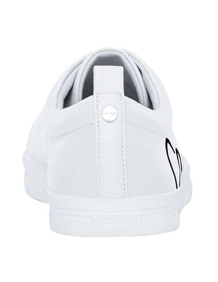 Madie Kansas Pu White Sneaker image 3