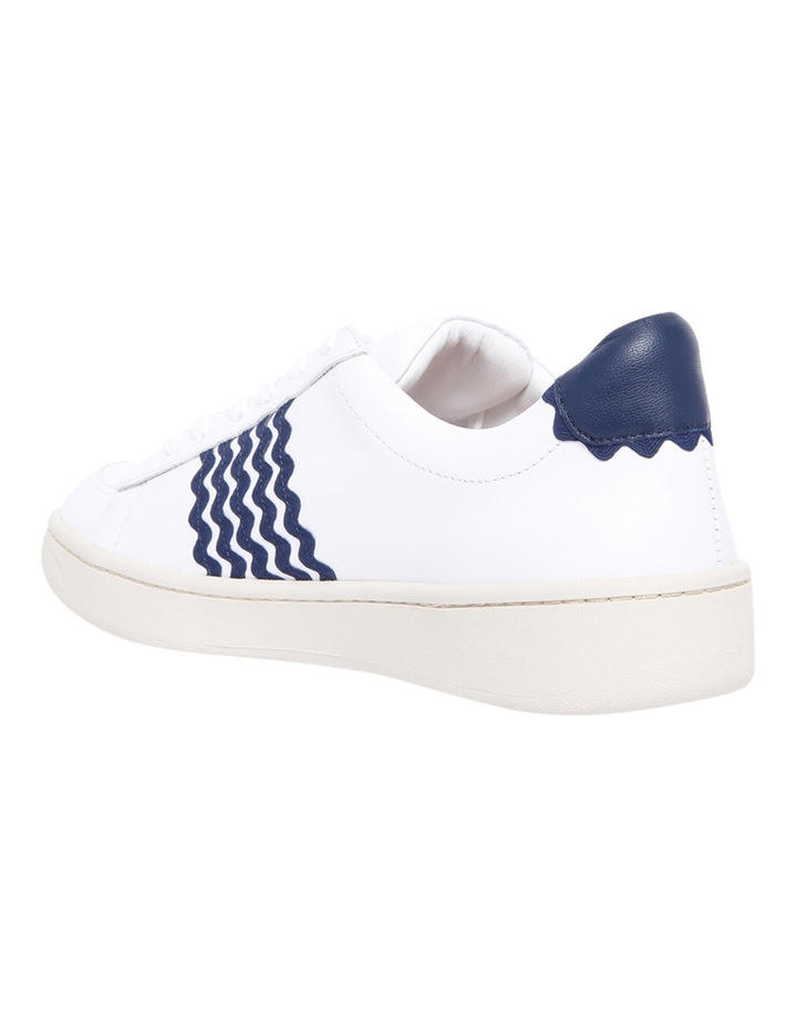 Elliot Lace Up Sneaker With Ric Rac White/Eclipse Sneaker image 2