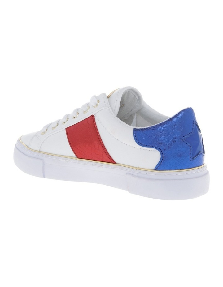 Gamer White/Navy/Red Sneaker image 2