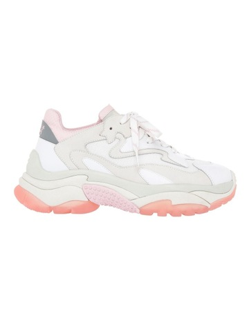 8d81bba80e8 AshADDICT SS19-S-126379-002 WHITE WITH PINK SNEAKER. Ash ADDICT  SS19-S-126379-002 WHITE WITH PINK SNEAKER