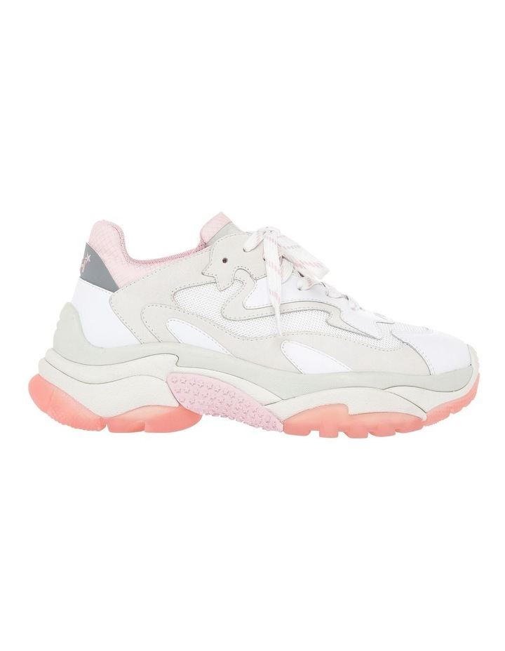 ADDICT SS19-S-126379-002 WHITE WITH PINK SNEAKER image 1