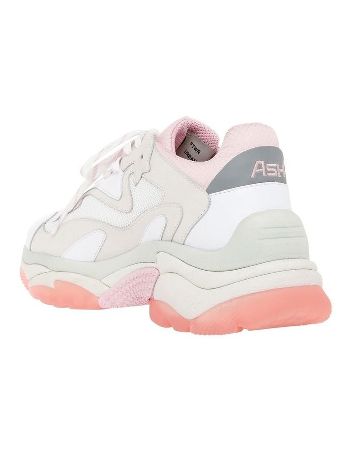 ADDICT SS19-S-126379-002 WHITE WITH PINK SNEAKER image 2