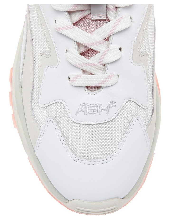 ADDICT SS19-S-126379-002 WHITE WITH PINK SNEAKER image 3