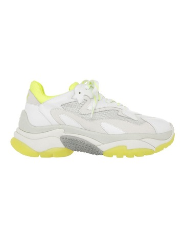 best service 79b55 0134d AshADDICT SS19-S-126379-003 WHITE WITH YELLOW SNEAKER. Ash ADDICT  SS19-S-126379-003 WHITE WITH YELLOW SNEAKER