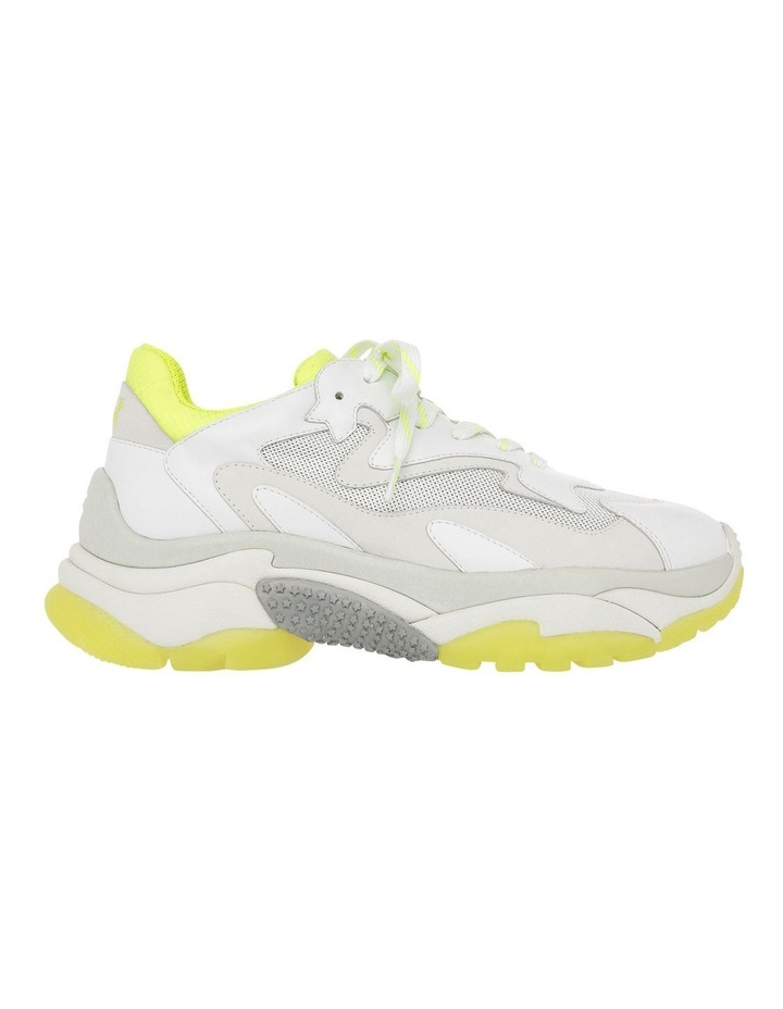 ADDICT SS19-S-126379-003 WHITE WITH YELLOW SNEAKER image 1
