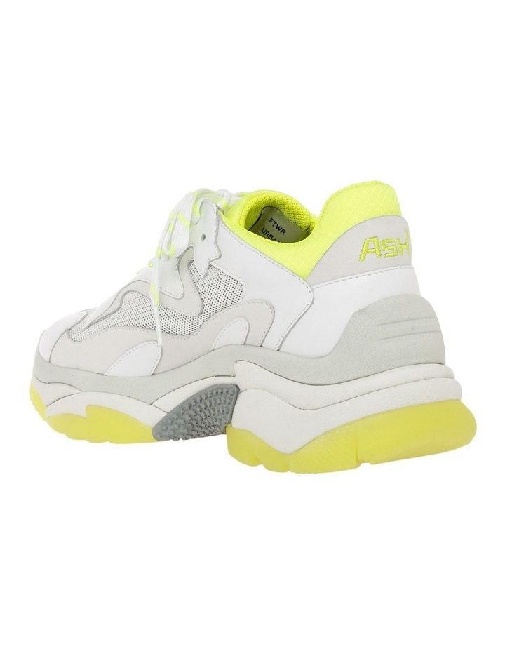 ADDICT SS19-S-126379-003 WHITE WITH YELLOW SNEAKER image 2