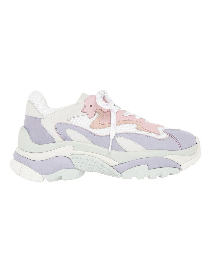 ADDICT BIS SS19-S-128446-007 WHITE WITH PURPLE SNEAKER image 1