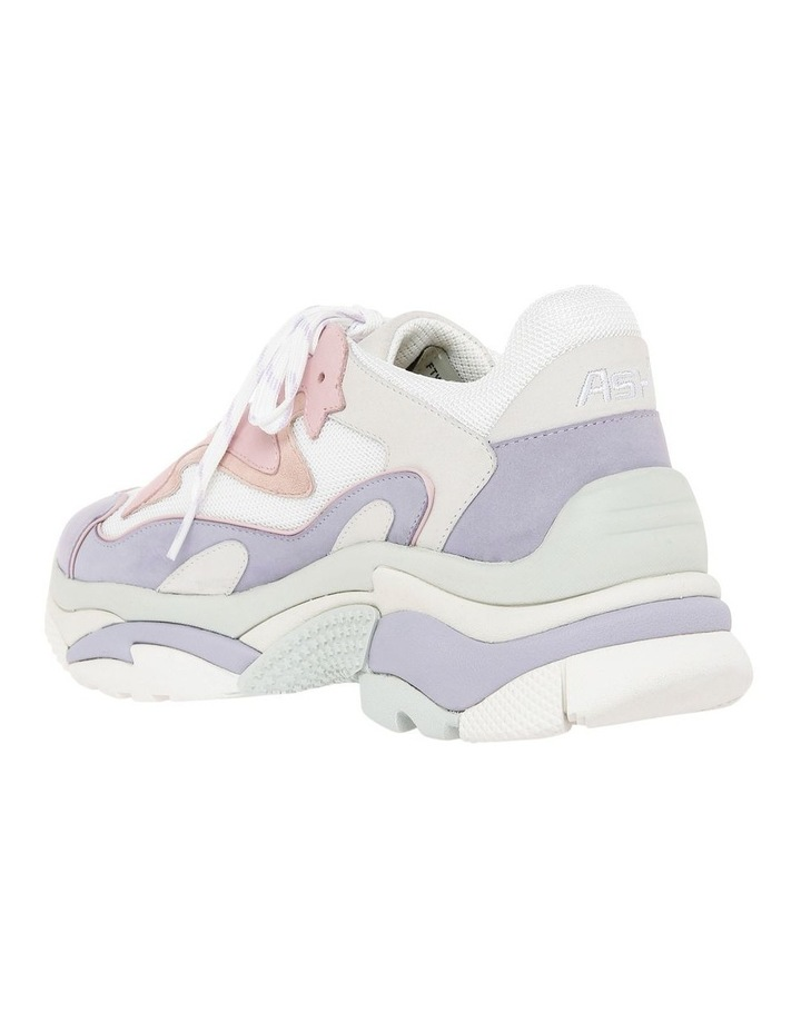 ADDICT BIS SS19-S-128446-007 WHITE WITH PURPLE SNEAKER image 2