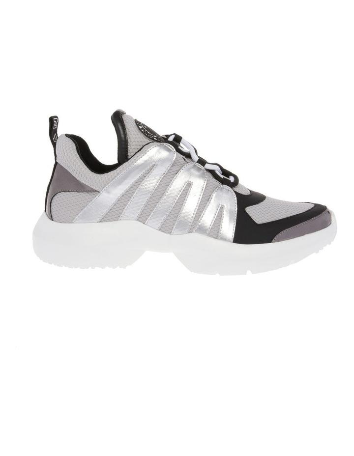 K2920229 Lacey Silver/Black Sneaker image 1